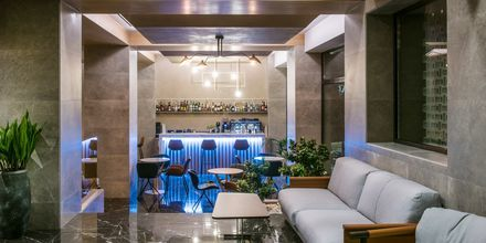 Lobby på hotell Chania Flair på Kreta, Grekland.