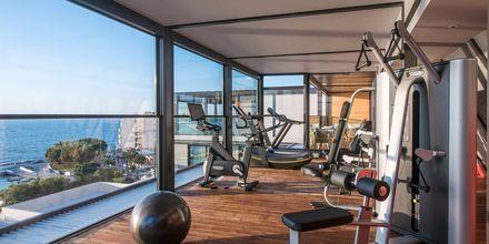 Gym på hotell Chania Flair på Kreta, Grekland.