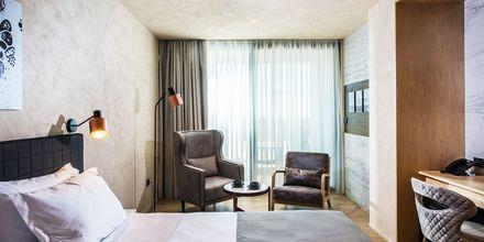 Dubbelrum på hotell Chania Flair på Kreta, Grekland.
