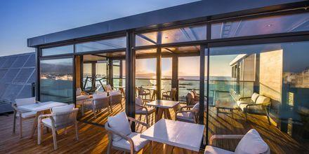 Takbaren på hotell Chania Flair på Kreta, Grekland.