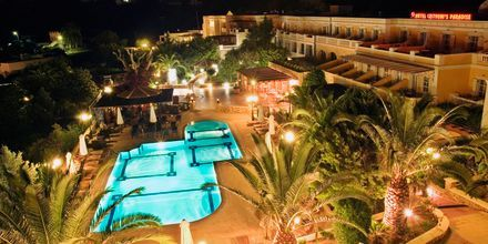 Hotell Chrithonis Paradise på Leros, Grekland.