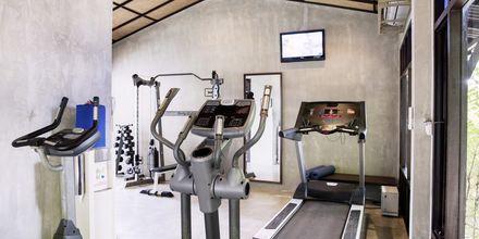 Gymmet på Chura Samui Resort på Koh Samui, Thailand.