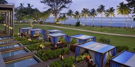 Restaurang Fire på hotell Cinnamon Bey Beruwala i Bentota, på Sri Lanka.