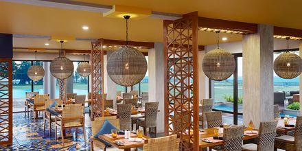 Restaurang på hotell Cinnamon Bey Beruwala i Bentota, på Sri Lanka.