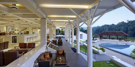 Lounge på hotell Cinnamon Citadel i Kandy på Sri Lanka.