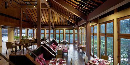 Restaurang på hotell Cinnamon Citadel i Kandy på Sri Lanka.