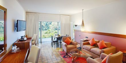 Dubbelrum på hotell Cinnamon Citadel i Kandy på Sri Lanka.