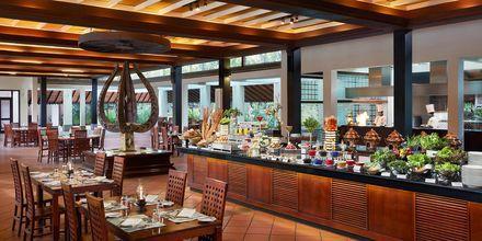 Restaurang på Cinnamon Lodge Habarana på Sri Lanka.