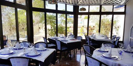 Restaurang på hotell Colina Mar i Puerto Rico, Gran Canaria.