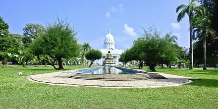 Viharamahadevi Park i Colombo, Sri Lanka.