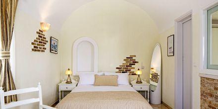 Dubbelrum på hotell Contaratos Beach på Paros, Grekland.