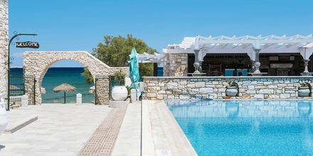 Hotell Contaratos Beach på Paros, Grekland.