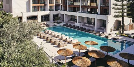 Poolområde på hotell Contessina i Tsilivi, Grekland.