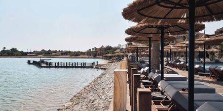 Stranden vid hotell Cook's Club El Gouna i Egypten.