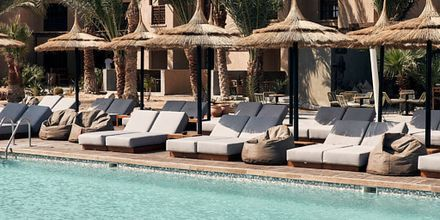 Poolområdet på hotell Cook's Club El Gouna i Egypten.