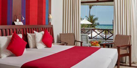 Deluxerum på Coral Sands Hotel i Hikkaduwa, Sri Lanka.