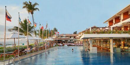Coral Sands Hotel i Hikkaduwa, Sri Lanka.