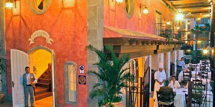 Restaurang Los Guayres  på Cordial Mogan Playa i Puerto Mogán, Gran Canaria.