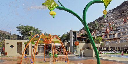 Vattenlekplatsen på hotell Cordial Morgan Valle, Puerto Mogán, Gran Canaria.