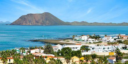 Corralejo på Fuerteventura, Kanarieöarna.