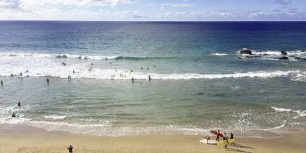 Stranden i La Pared, Fuerteventura.