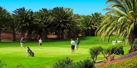 Golf är populärt på Lanzarote.