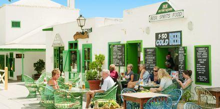 Costa Teguise på Lanzarote, Kanarieöarna.