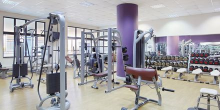 Gym på hotell Creta Maris Beach Resort på Kreta, Grekland.