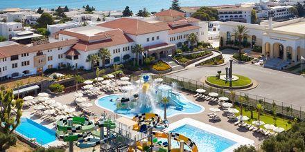 Vattenparken på hotell Creta Maris Beach Resort på Kreta, Grekland.
