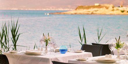 Restaurang Cochlias på hotell Creta Maris Beach Resort på Kreta, Grekland.