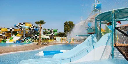 Vattenlandet på hotell Creta Maris Beach Resort på Kreta, Grekland.