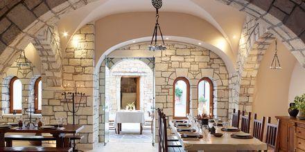 Restaurang Platia på hotell Creta Maris Beach Resort på Kreta, Grekland.