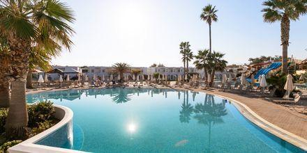 Poolområdet på hotell Louis Creta Princess i Maleme på Kreta, Grekland.