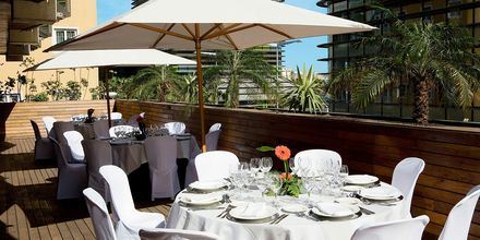 Restaurang på hotell Cristina Las Palmas på Gran Canaria.