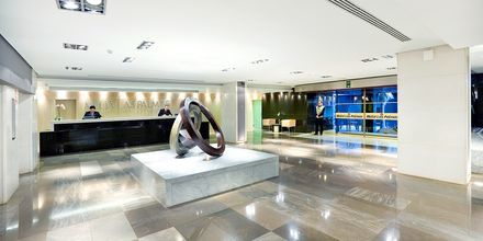Reception på hotell Cristina Las Palmas på Gran Canaria.