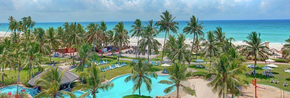 Hotell Crowne Plaza Resort i Salalah, Oman.