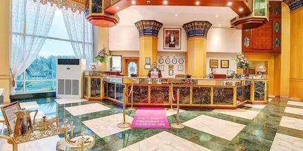 Lobby på hotell Crowne Plaza Resort, Oman.