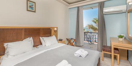 Dubbelrum på hotell Crystal Beach i Kalamaki, Zakynthos.
