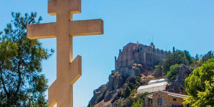 Stavrovouniklostret på Cypern.