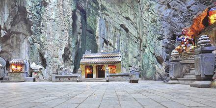 Grotta i Marble Mountains, Da Nang, Vietnam.