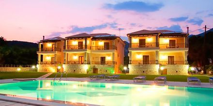Hotell Dalouda i Parga, Grekland.