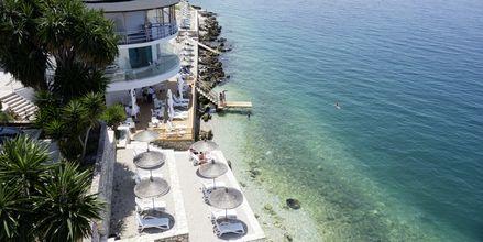 Hotell Delfini i Saranda, Albanien.