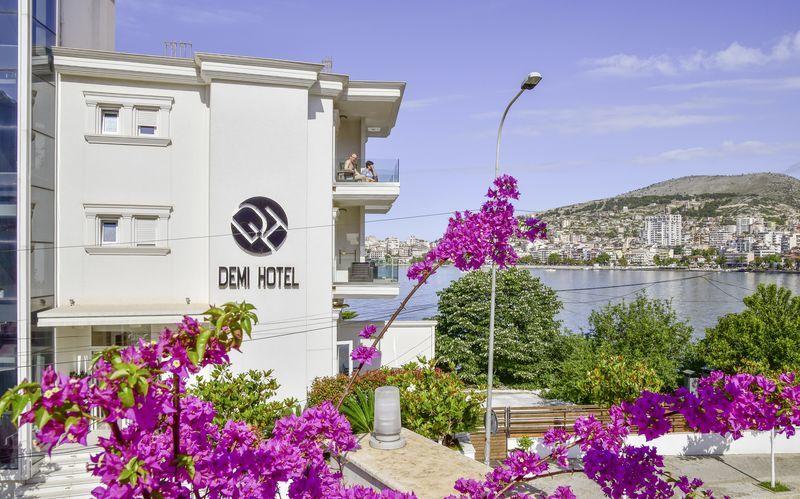 Hotell Demi i Saranda, Albanien.