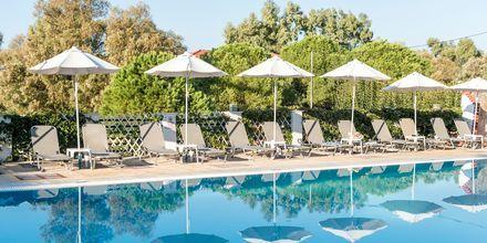 Dennys Inn i Kalamaki på Zakynthos, Grekland.