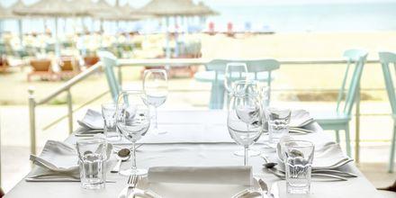 Restaurang på Diamma Resort, Durres riviera, Albanien.