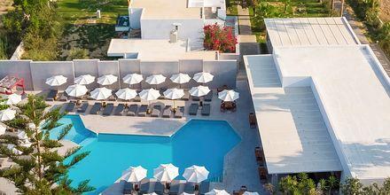 Poolområdet på hotell Diamond Boutique i Lambi på Kos, Grekland.