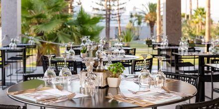 Restaurang på hotell Diamond Boutique på Kos, Grekland.