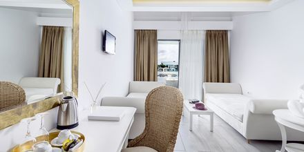 Svit på hotell Diamond Deluxe Hotel i Lambi på Kos, Grekland.