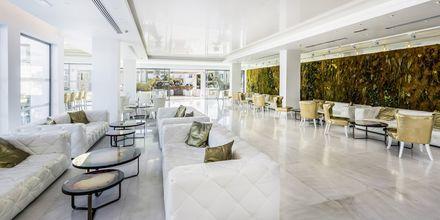 Lobby på hotell Diamond Deluxe Hotel i Lambi på Kos, Grekland.