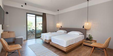 Dubbelrum på hotell Diapori i Kardamili, Peloponnesos.